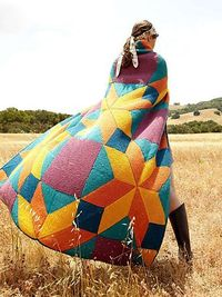 OMG, THIS is breathtaking!!!! Bright Star blanket