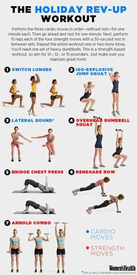 The Workout That Will Boost Your Metabolism Before Thanksgiving |
