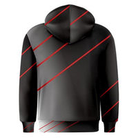 red lined hoodie $25.00