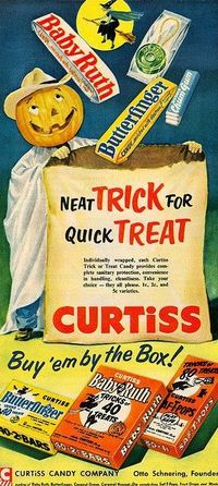 ~ Safety Pops (with that string!) ~ Chum Gum ~ Baby Ruth ~ Butterfingers ~