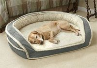 Memory Foam Dog Beds For Large And Small Dogs - http://www.snugglezzz.com/fleece memory foam dog bed p/fmfb.htm