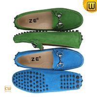 Gommino Leather Moccasin Loafers for Women CW314025