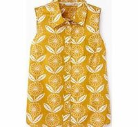 Boden Sleeveless Shirt, Yellow Sunflower Print 34476796 A Fifties inspired favourite that looks fabulous with full feminine skirts and just the job with jeans. http://www.comparestoreprices.co.uk//boden-sleeveless-shirt-yellow-sunflower-print-34476796.asp