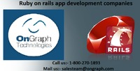 Ruby on rails app development companies | OnGraph