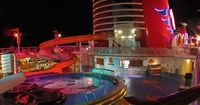Pool Area (Disney Magic and Disney Wonder)