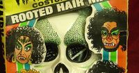 Ben Cooper Hairy Scary Skull Halloween Costume