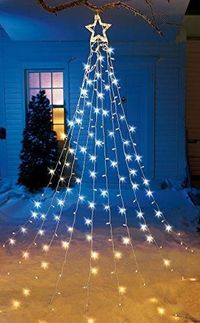 String Light Christmas Tree with Star $36.99