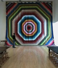 museumuesum: Allison Smith Fancy Work (Scattergood Quilt),... good lord....