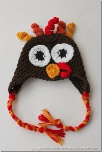 Free Baby Crochet Turkey Hat Pattern - Projects Around the House