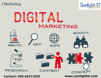 Digital Marketing Services In Hyderabad Sunlight IT is more into digital marketing we create a prosperous online presence and promoting your business. Digital marketing helps to get branding strategy and direct response from your clients.  Services: di...