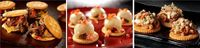 superbowl ritz cheese steak sliders from Guy Fieri