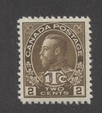 A Post Office Fresh Example of a 1916 War Tax Stamp of Canada