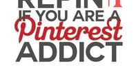 Now that I have time on my hands I have rediscovered my Pinterest addiction...