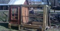 Chicken House with wheels
