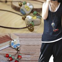 LNRRABC Animal 2018 New Arrival Handmade Summer Bee Necklace Allergy Free Hot Sale Exquisite 1PC Adjustable Stone fortnite $2.38