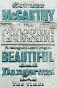 The Book Cover Archive: The Crossing, design by David Pearson - via http://bit.ly/eposter