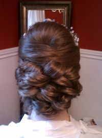 Woven updo....Possible up-do for Ali's wedding