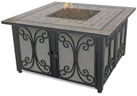 LP GAS OUTDOOR FIREBOWL WITH SLATE TILE MANTEL GAD1351SP $499.99