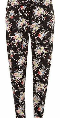 Dorothy Perkins Womens Tall Woven Floral Bloom Jogger- Fl Multi Pull on style woven floral jogger on black ground with multi floral bloom print. Approx length 80cm. 100% Viscose. Machine washable. http://www.comparestoreprices.co.uk//dorothy-perkins-w...