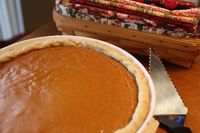 pumpkin pies, pies and pumpkins.