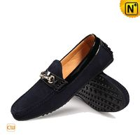 Suede Leather Driving Shoes Loafers for Men CW740122