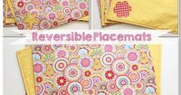 A simple, free pattern and tutorial on how to make placemats (reversible placemats). Can easily be used for any holiday or special occasion.