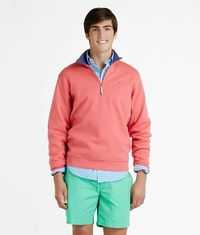 Mens Quarter-Zip Pullovers: Harbor 1/4-Zip - vineyard vines