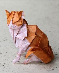 Paper Cat- we could get one of these, I'm not allergic to paper :)