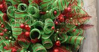 christmas deco mesh wreaths   Get Creative with Decomesh this Christmas   Totally Christmas