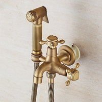 Antique Handshower Included Ceramic Valve Polished Brass Shower Faucet.jpg