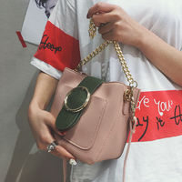LEFTSIDE New 2017 Clain Bucket Hand Bags Fashion Women CrossBody Bag shoulder handbag Women's Messenger Bags High Capacity $26.34