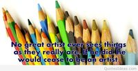 Colours art quote new idea 2015