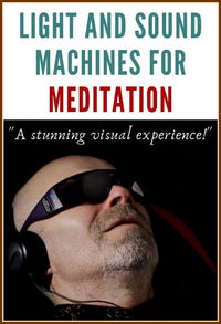 If you feel that life is giving you more stress than you can handle, light and sound machines can help you to literally change your mind! This should prove especially helpful if you are new to meditation.