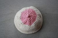 I expect all of my Ride or Die NYC Knitta Squad to come Knit a Boob for breast cancer awareness on May 16th! At the textile arts center in b...