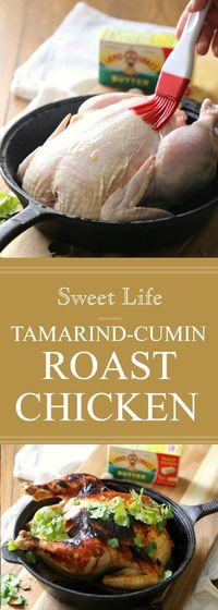 My Tamarind Cumin Roast Chicken is my go-to dinner for two. Seasoned with a delicious tamarind sauce this meal takes minimal time to prepare, plus the oven does most of the work.I am excited to be partnering withLand O' Lakes this year to bring ...
