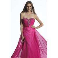 Beaded Strapless Dress by Dave and Johnny 1150 - Bonny Evening Dresses Online