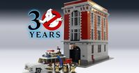 Attenshun, Lego and Bill Murray fans all over the world! Start saving because the Keymaster has finally met the Gatekeeper and Gozer the Gozerian has materializ