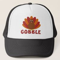 Cute Turkey Gobble Hat