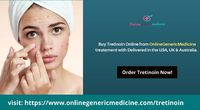 Buy Tretinoin Cream Online From OnlineGenericMedicine. Available at the best price in the USA, UK, Australia, at your doorsteps. Check out Tretinoin reviews. Order Tretinoin Now!