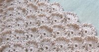 Relief pattern for shawl