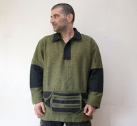 """Mens Fall Pullover ( L size) �€"""" Woven Jacket with cotton lining $65.00"""