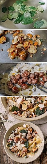 This is the perfect winter pasta recipe to take you through those cold weather months. Grab a big bowl and curl up in front of the fireplace or TV to enjoy.