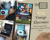 Buy Vintage Electronics HERE:  https://www.burkedecor.com/collections/home-electronics