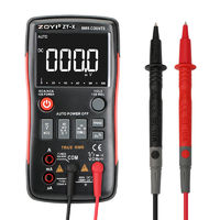 ZT-X Digital Multimeter Button 9999 Counts VS RM409B Analog Bar Graph AC/DC Voltage Ammeter Current Ohm LCD Backlight Display