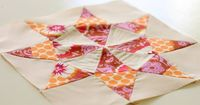 Quality Sewing Tutorials: Texas Star Quilt Block tutorial by Blue Elephant Stitches