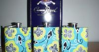 lilly flasks and crown for the big and little before semi