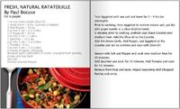 Staub cookware Recipes