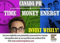 Get your profile assessed to know your chances for eligibility for Canada PR through Express Entry and other immigration programs. Email your profile to our qualified RCIC at Exult Immigration Solutions at info(at)exultimmigrations(dot)co...