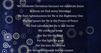 """Image detail for -Jesus �€"""" The reason for the season"""