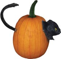 Cat-Pumpkin Push Ins $10.91 https://costumecauldron.com